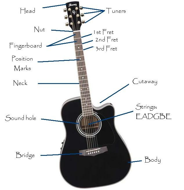 Important Terms For Guitar